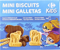 Mini biscuits - Producte