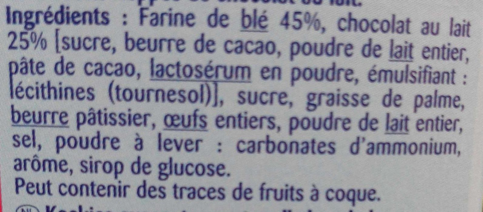 Mini biscuits - Ingredientes