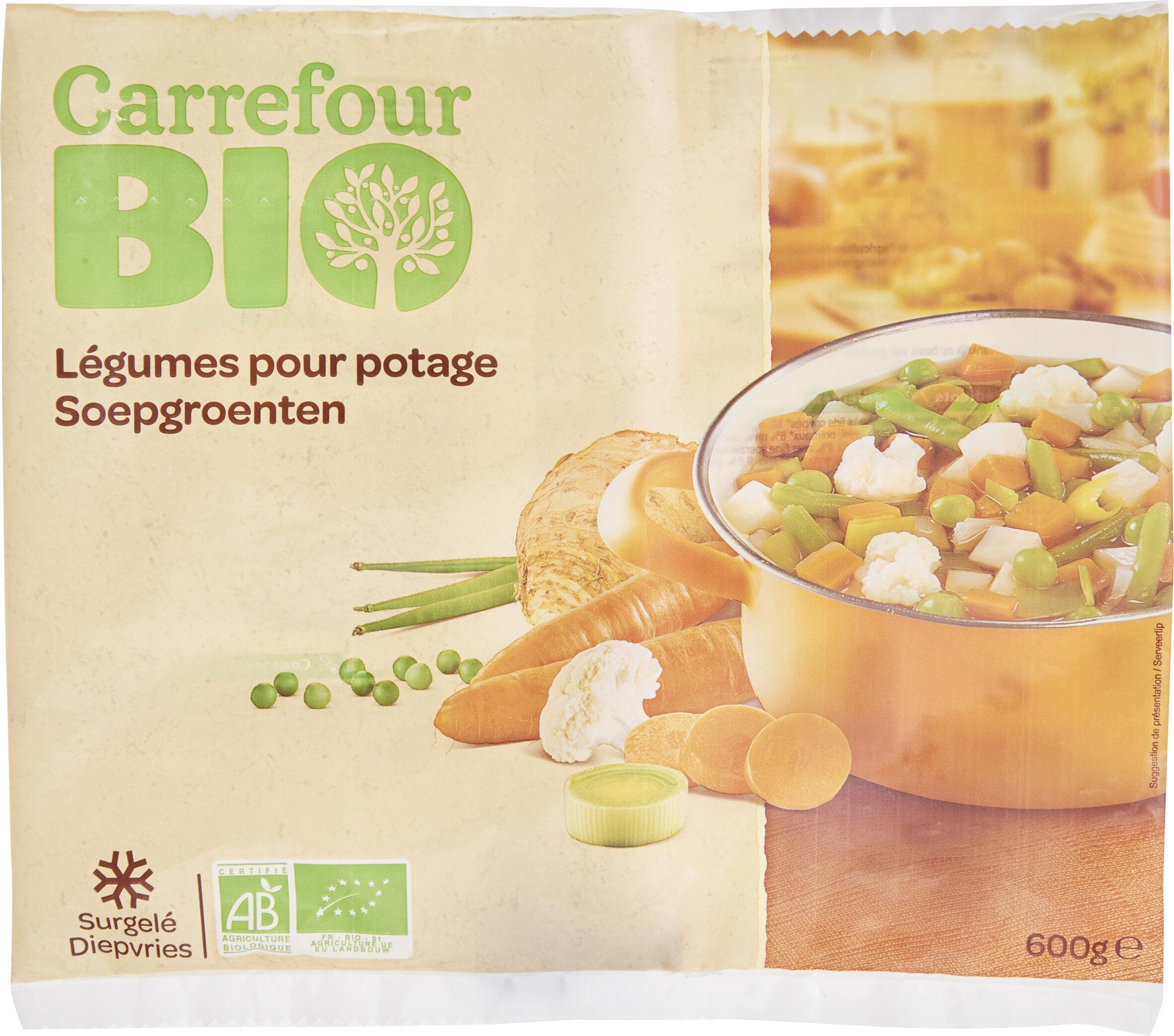 Légumes pour potage Bio - Produit - fr