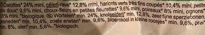 Légumes pour potage Bio - Ingrédients - fr