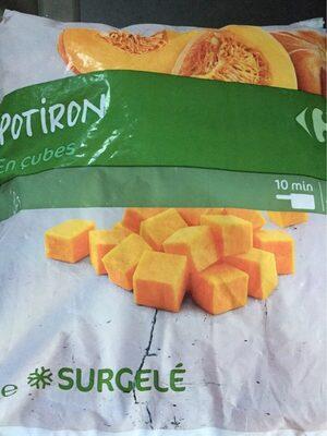 Potiron en Cubes Surgelé - Produit - fr