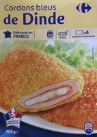Cordons Bleus de dinde (x 4) - Produit - fr