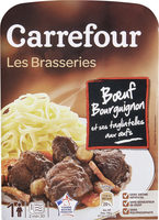 Bœuf Bourguignon et ses Tagliatelles - Produit - fr