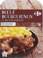 Bœuf Bourguignon et ses Tagliatelles - Prodotto - fr