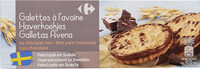 Galettes à l'avoine Au chocolat noir - Product - fr