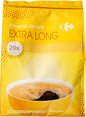 Dosettes de café extra long - Product - fr