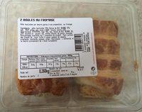 2 roulés au fromage - Product - fr