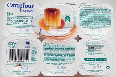 Flan nappé de caramel - Produit - fr