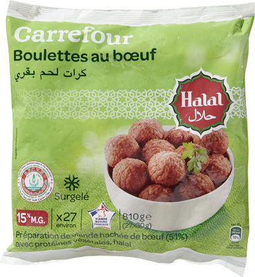 Boulettes au bœuf* - Product