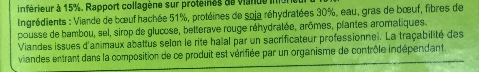 Boulettes au bœuf* - Ingredients