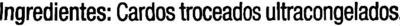 """Cardo congelado """"Carrefour"""" - Ingredientes - es"""