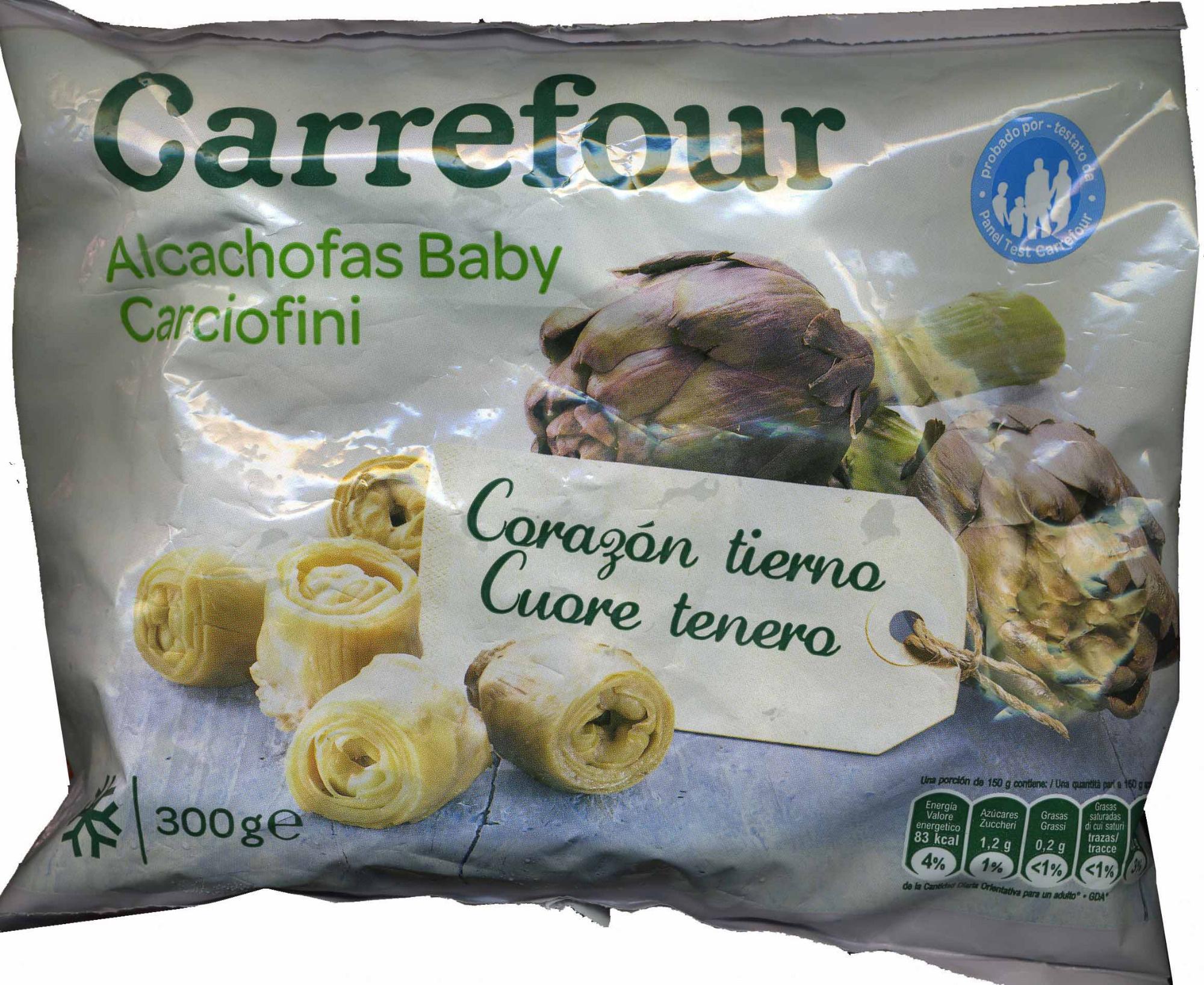 Alcachofa baby - Producte