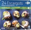 24 Escargots Préparés à la Bourguignonne - Product