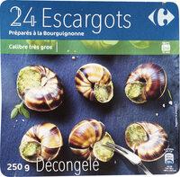 24 Escargots Préparés à la Bourguignonne - Product - fr