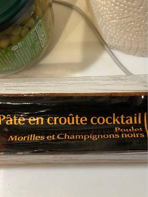 Pâté en croûte poulet aux morilles - Product - fr
