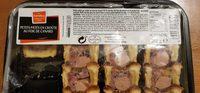 Petits pâtés en croute au foie de canard - Product