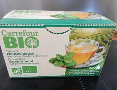 Thé vert menthe douce - Produit - fr