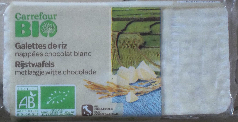 Galettes de riz nappées chocolat blanc - Product - fr