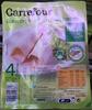 Blanc de poulet aux fines herbes 4 tranches - Produit