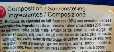 Pop n croc - Ingredientes - fr