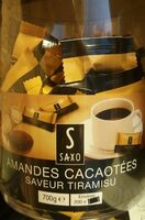 Amandes cacaotées saveur tiramisu - Produit