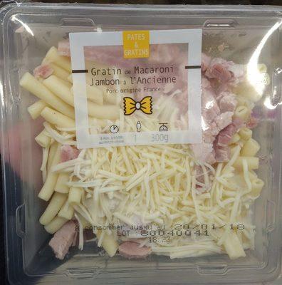 Gratin de Macaroni Jambon à l'Ancienne - Product - fr