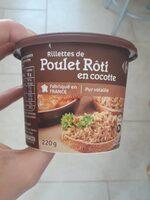 Rillettes poulet roti en cocotte - Product - fr