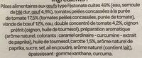Festinate Bolognaise - Ingrédients - fr