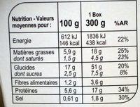 Festinate Bolognaise - Informations nutritionnelles - fr