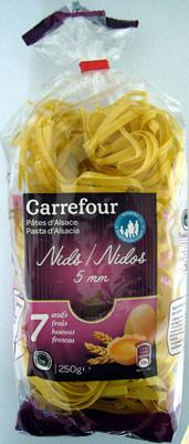 Pâtes d'Alsace Nids 5 mm (7 œufs frais) - Produit - fr