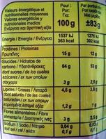 Pâtes d'Alsace Nids 5 mm (7 œufs frais) - Informations nutritionnelles - fr