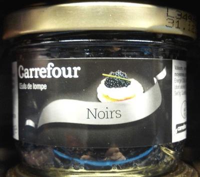 Oeufs de lompe noirs - Product
