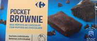 Brownie  aux pépites de chocolat - Product