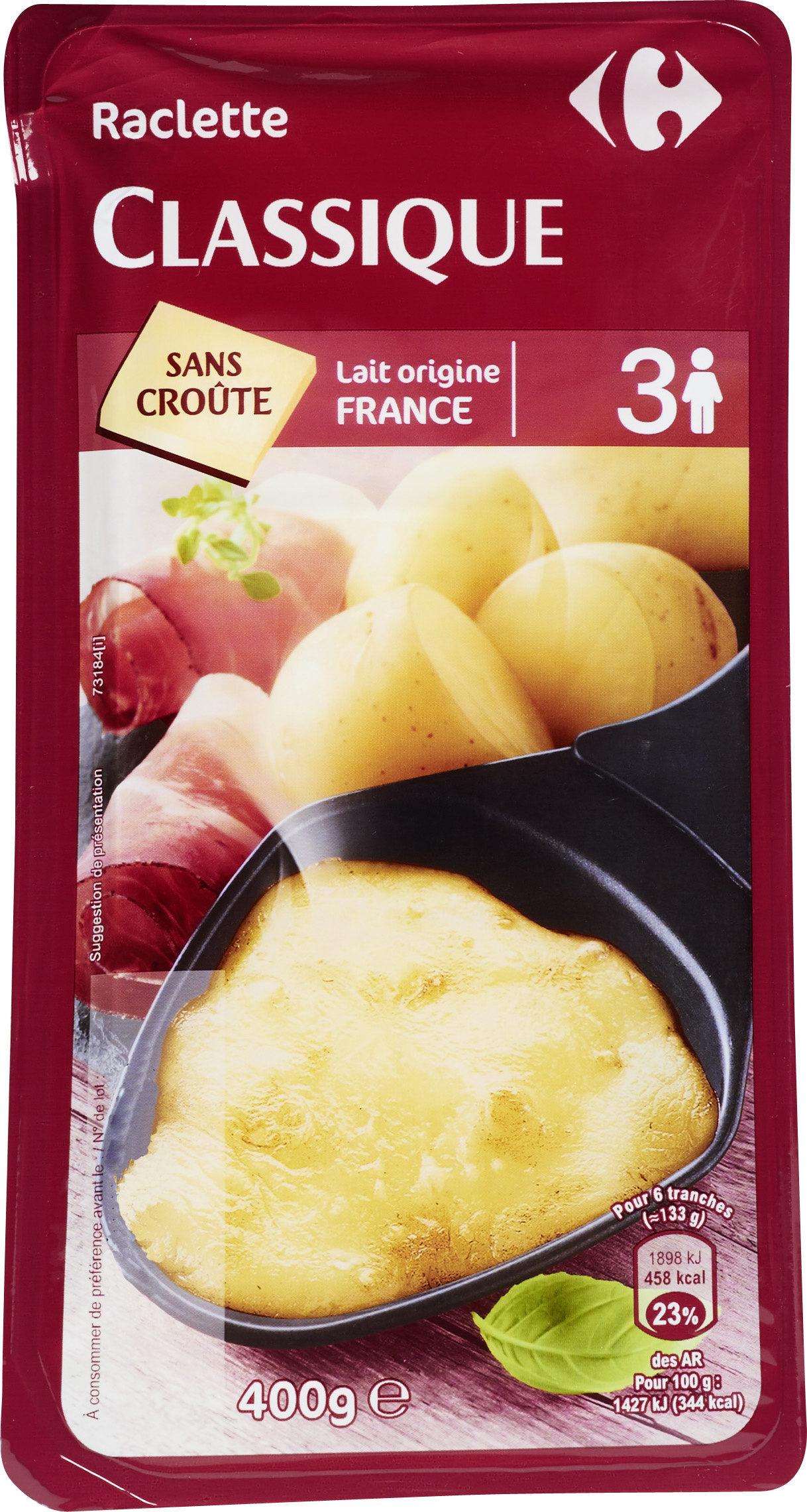 Raclette classique - Produit