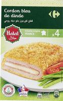 Cordon bleu de dinde Halal - Prodotto - fr