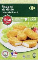 Nugget de Dinde Halal x20 environ - Prodotto - fr