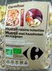 Muesli raisins noisettes Bio - Prodotto