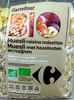Muesli raisins noisettes Bio - Produit