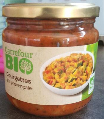 Courgettes bio à la provençale - Produit