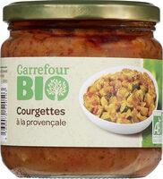 Courgettes bio à la provençale - Produit - fr