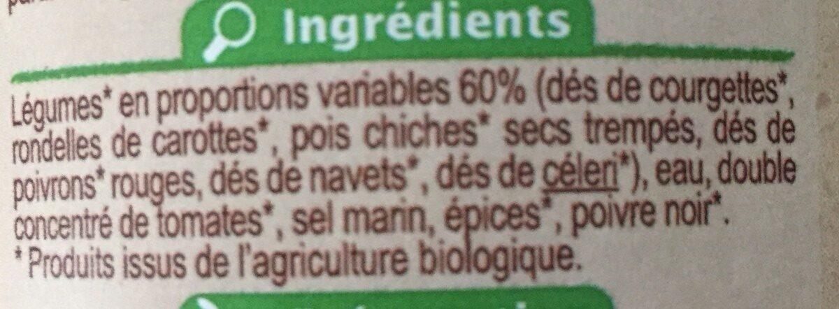 Légumes Pour Couscous - Ingrédients - fr