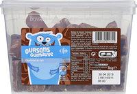 Oursons Guimauve chocolat au lait - Product