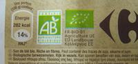 Son fin de blé Bio Carrefour - Ingredients