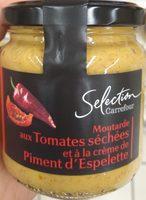 Moutarde aux tomates séchées et crème de piment d'Espelette - Product - fr