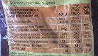 Pommes alphabet - Información nutricional - fr