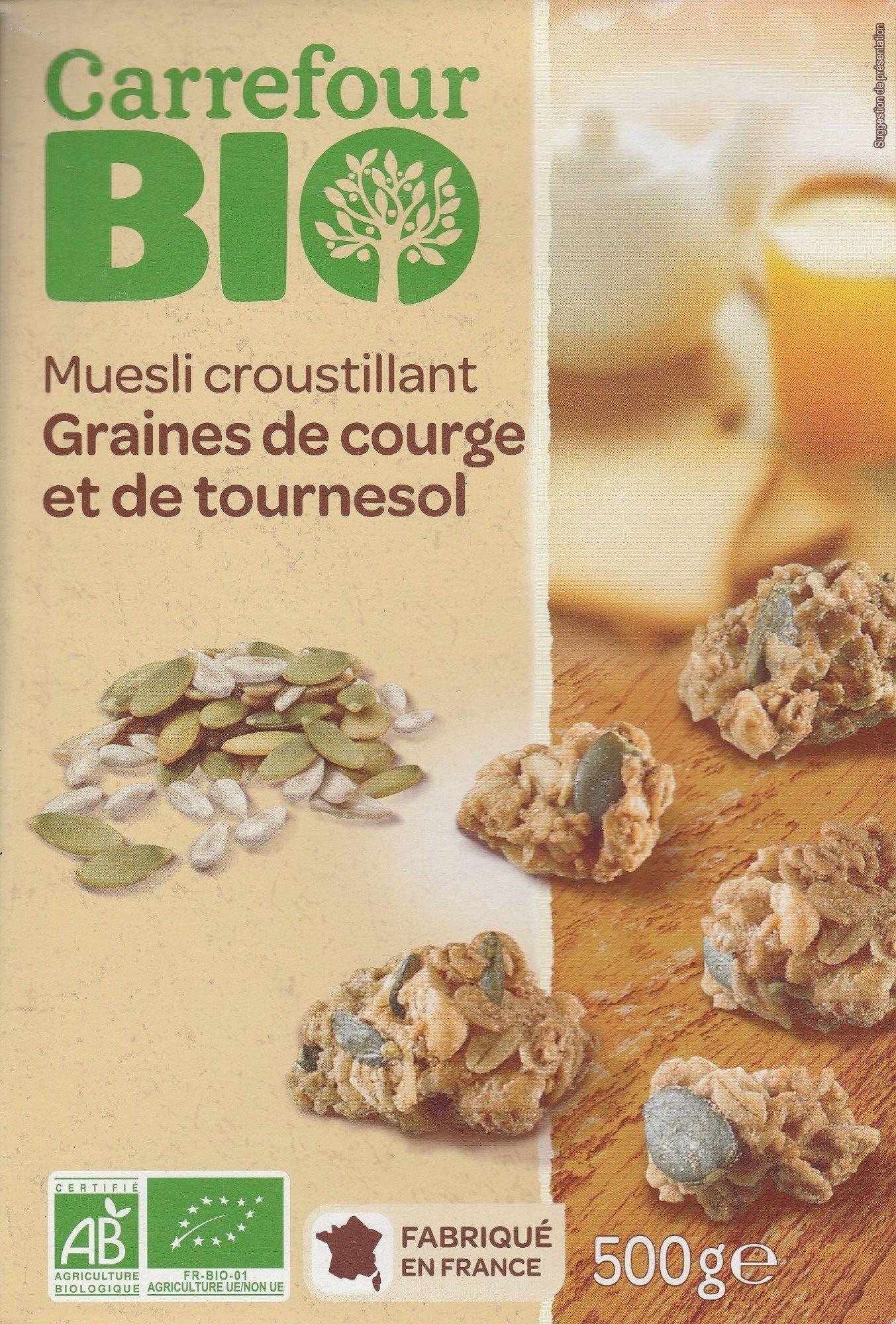 Muesli croustillant Graines de courge et de tournesol - Product