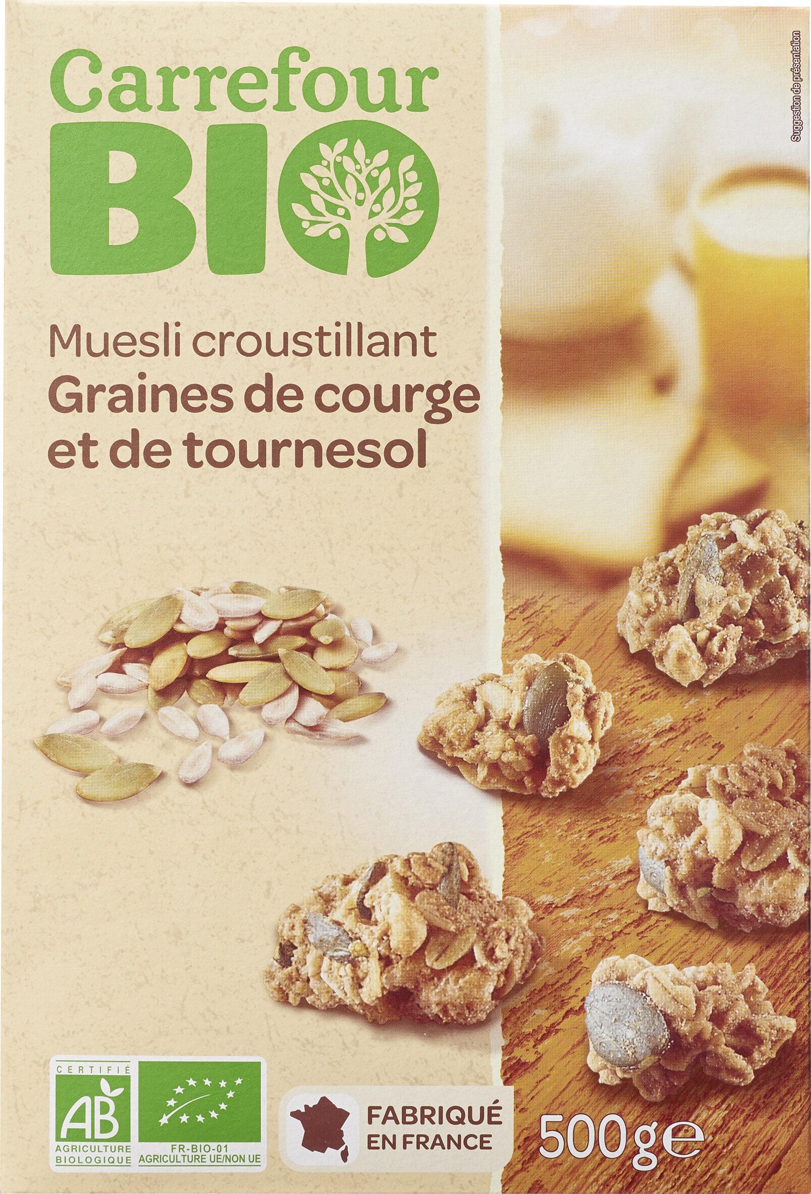 Muesli croustillant Graines de courge et de tournesol - Produit - fr