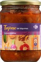 Tajine de légumes cuisiné à l'orientale - Prodotto - fr