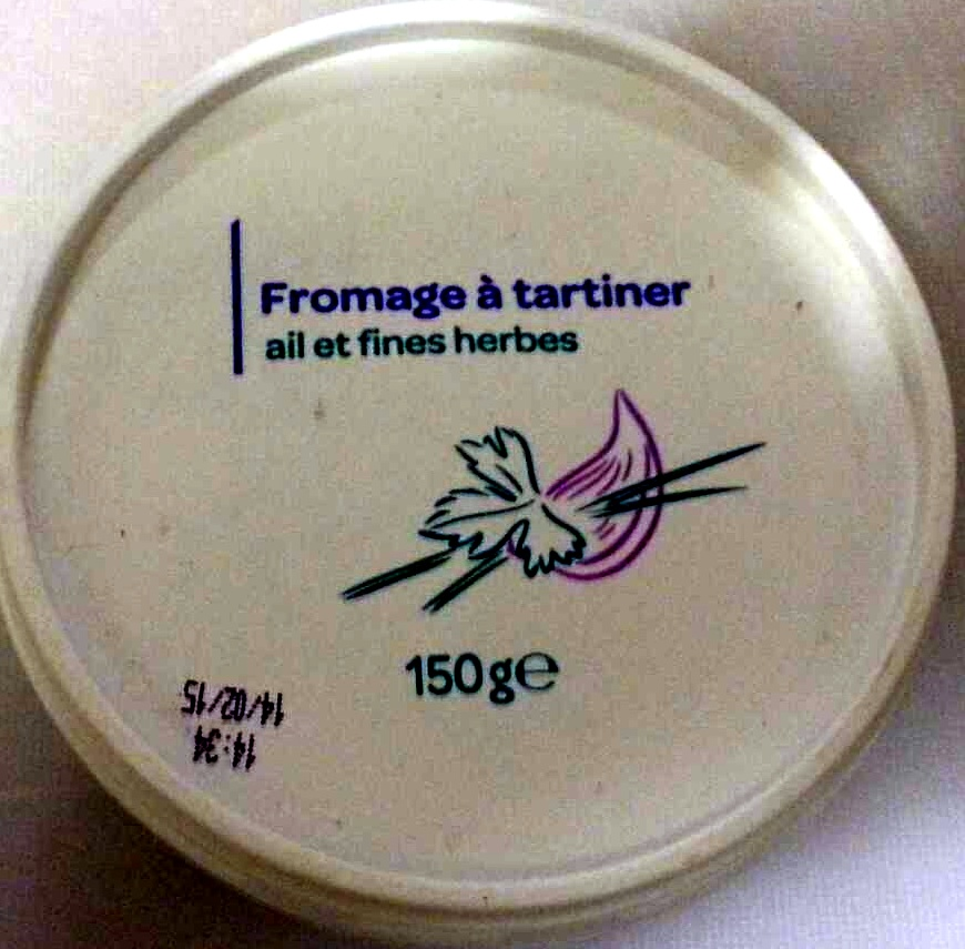 Fromage à tartiner, ail et fines herbes (24 % MG) - Produit
