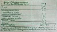 Yaourt fruits rouges avec morceaux - Nutrition facts - fr
